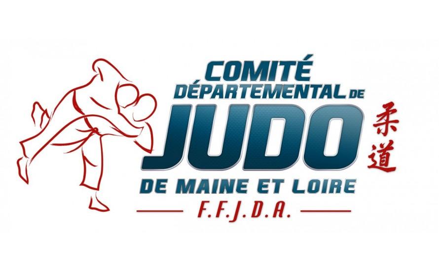 Logo du MAINE ET LOIRE JUDO
